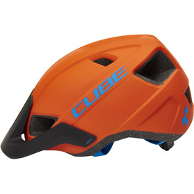 Cube CMPT Helmet orange'n'blue